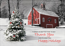Nature's Gratitude Holiday Greeting Cards